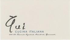 山梨県北杜市イタリアンレストラン qui CUCINA ITALIANA