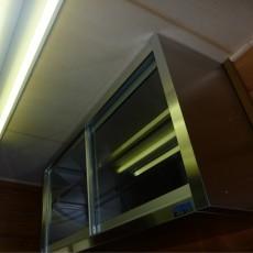 許可される食器棚は原則として扉付きのものに限る